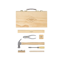 Tool Kit In Wooden Box