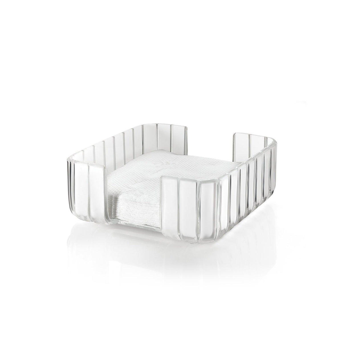 Grace Napkin Holder Clear