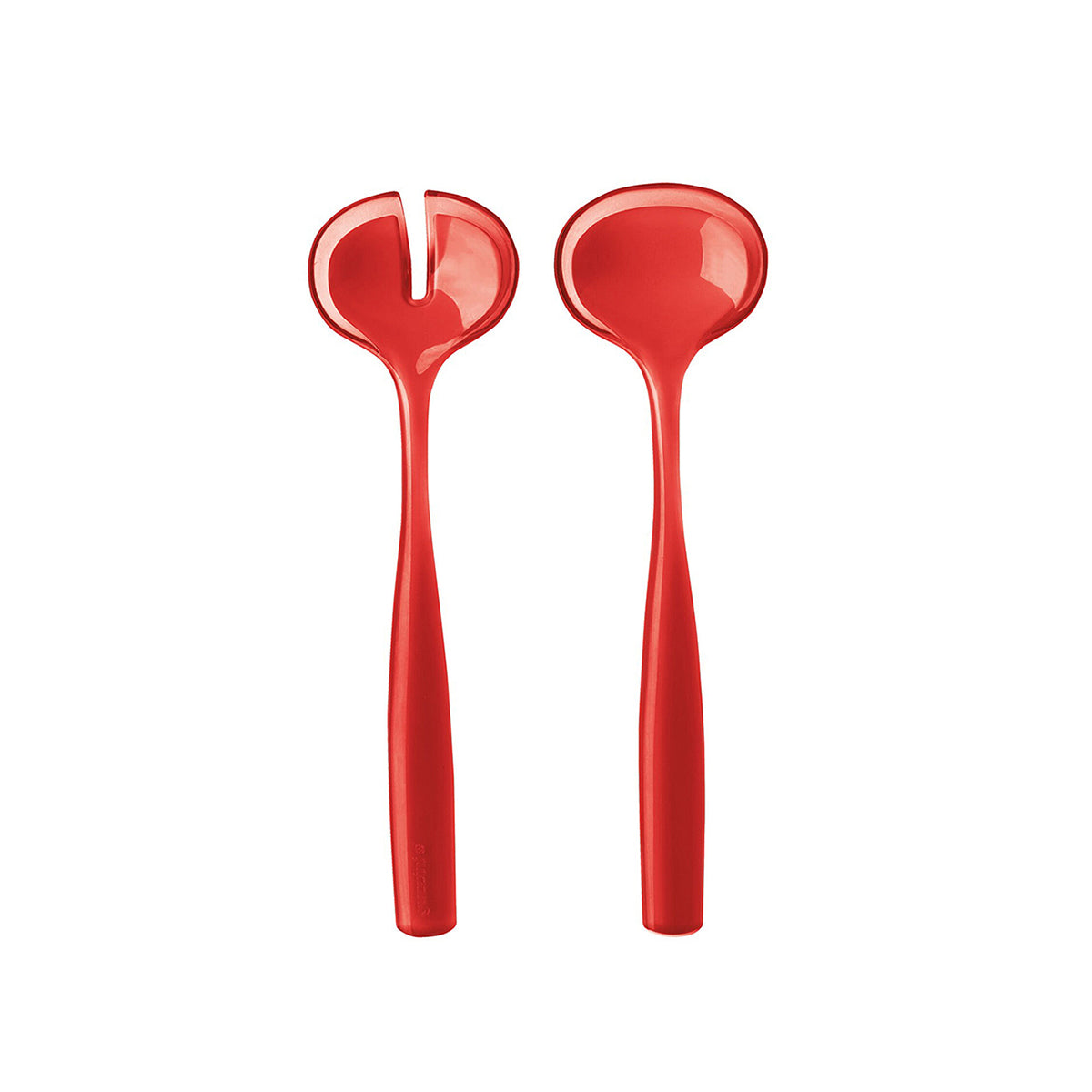 Grace Salad Servers Red