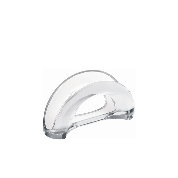 Two Tone Napkin Holder Clear