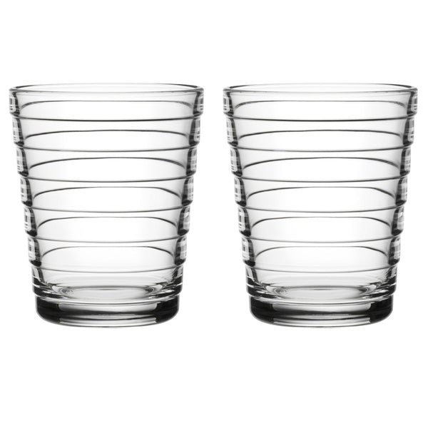 Aino Aalto Highball Clear Tumblers 330ml / Set 2