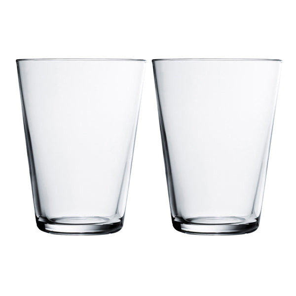 Kartio Highball Clear Tumblers 400ml / Set 2