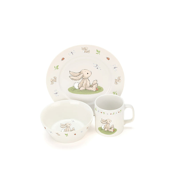 Bashful Bunny 3pc Set