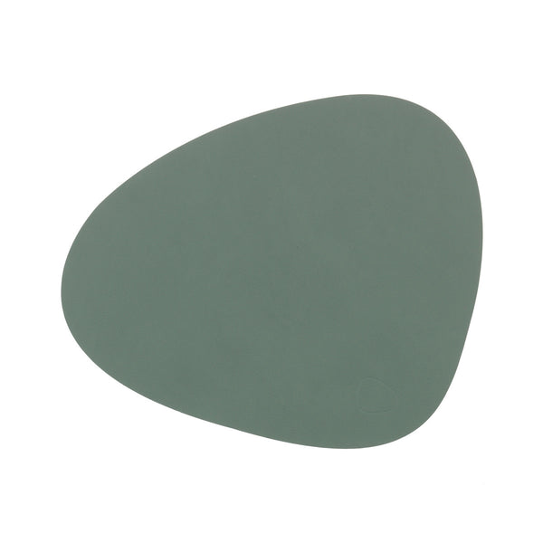 Curve Table Mat Nupo Pastel Green