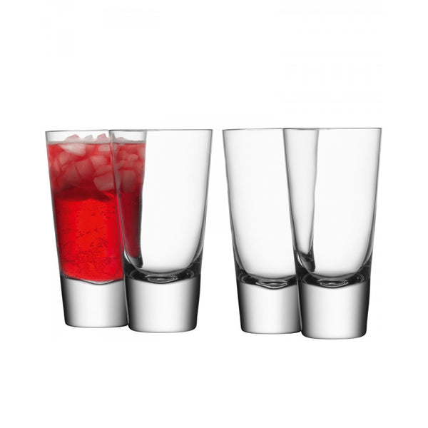 Bar Long Mixer Glass / Set 4