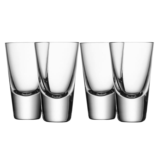 Bar Vodka Shot Glasses / Set 4