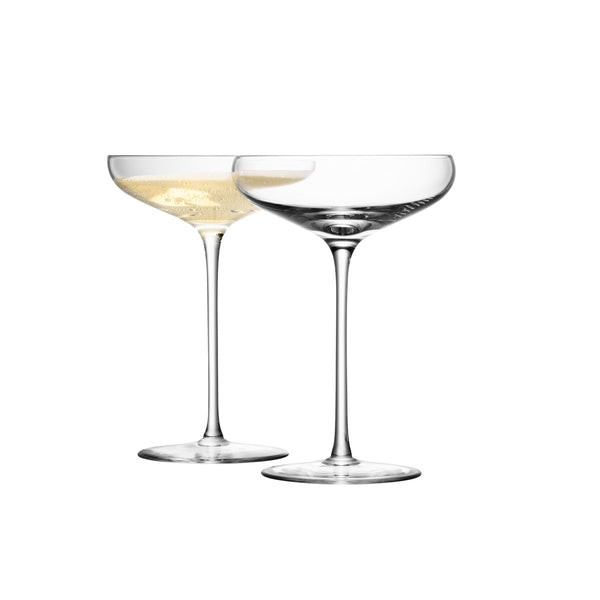 Champagne Saucers / Set 4