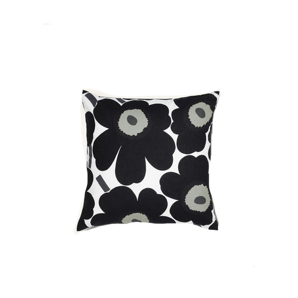Pieni Unikko Cushion Cover Black & White