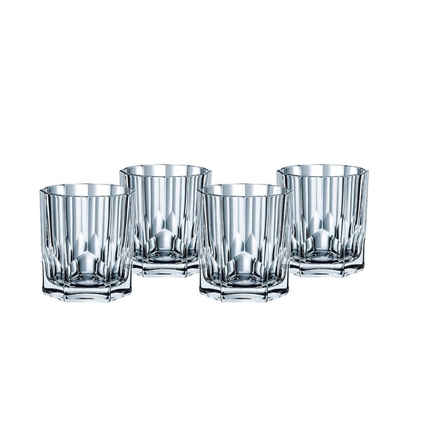Aspen Double Old Fashioned Tumblers/ Set of 4