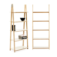 One Step Up Shelf White 200cm