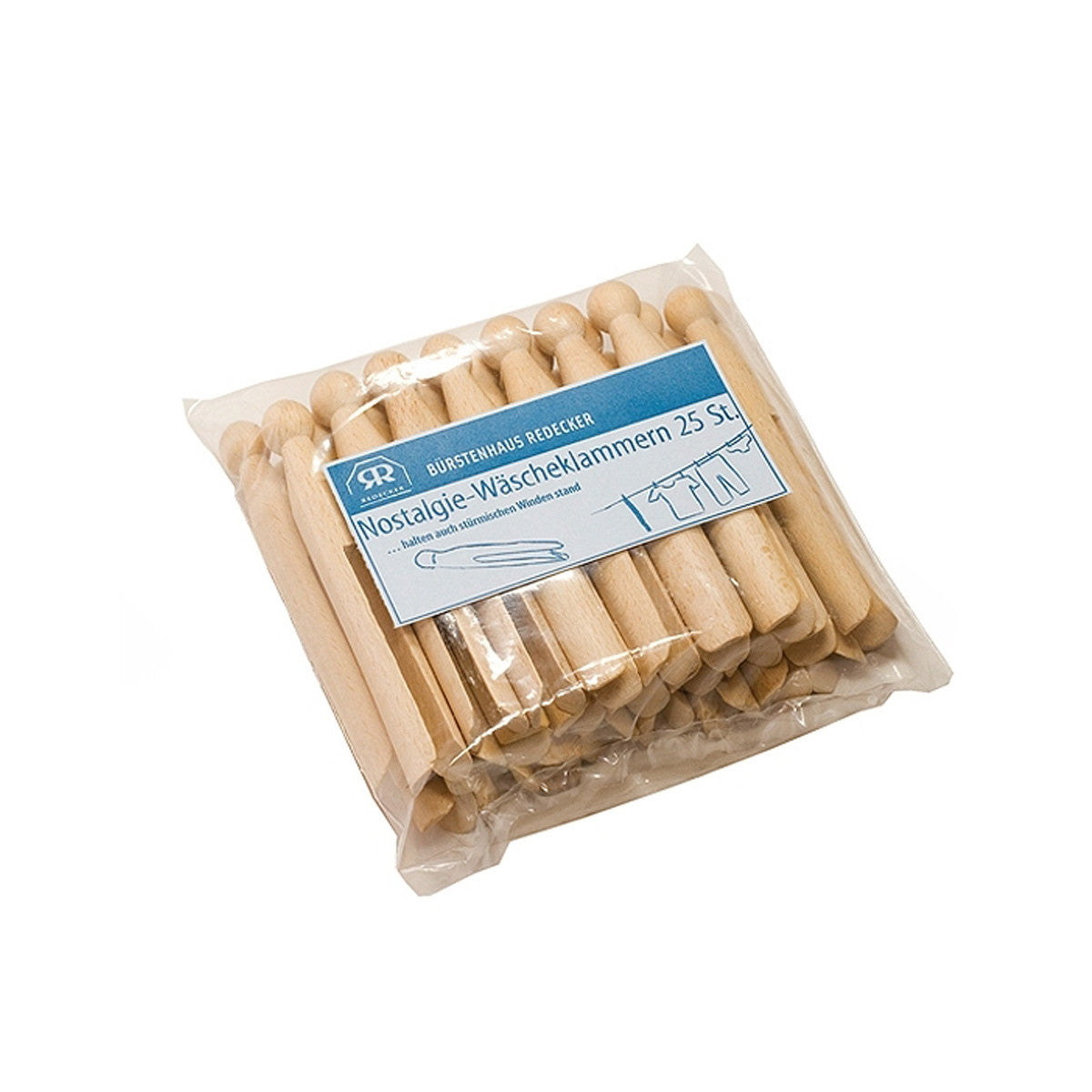 Wooden Pegs Pack 25