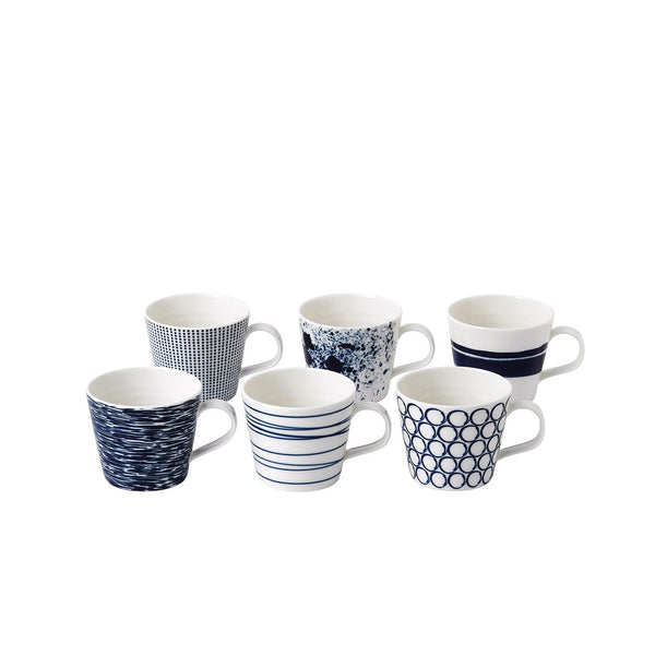 Pacific Mugs 260ml Boxed / Set 6