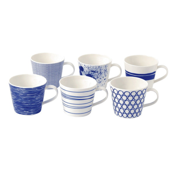 Pacific Mugs Boxed Set of 6