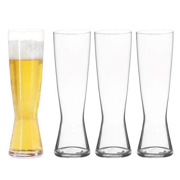 Beer Classics Tall Pilsner Glasses / Set 4