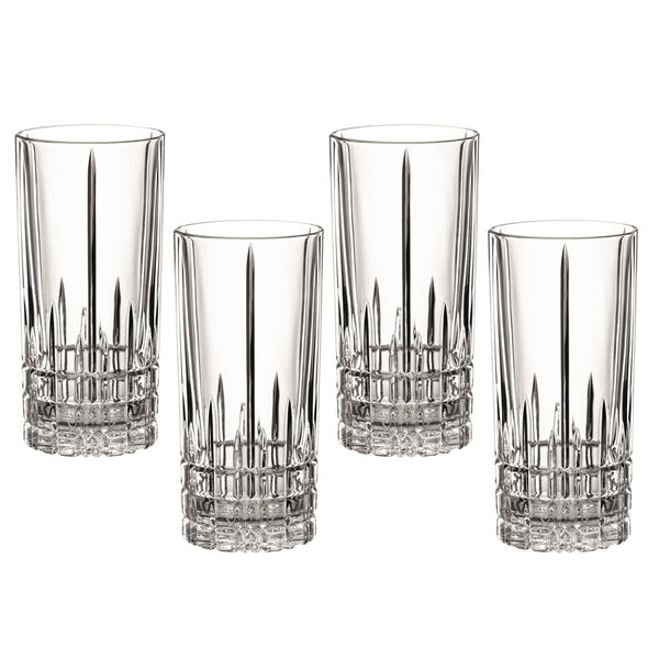 Serve Long Drink Highball Glasses / Set of 4