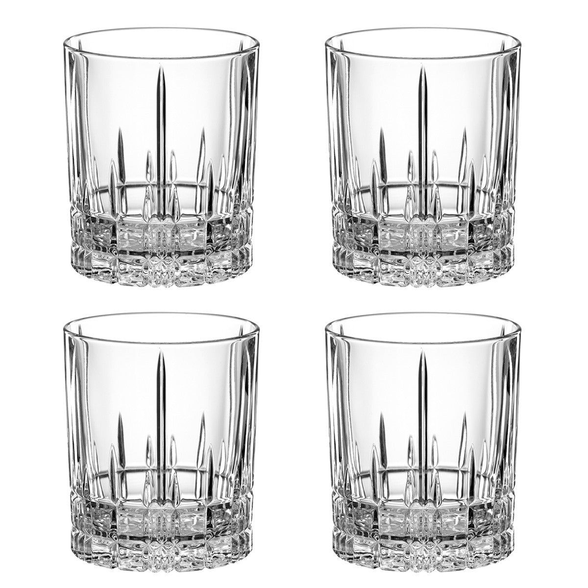 Perfect Serve Double Old Fashioned Tumblers / Set 4