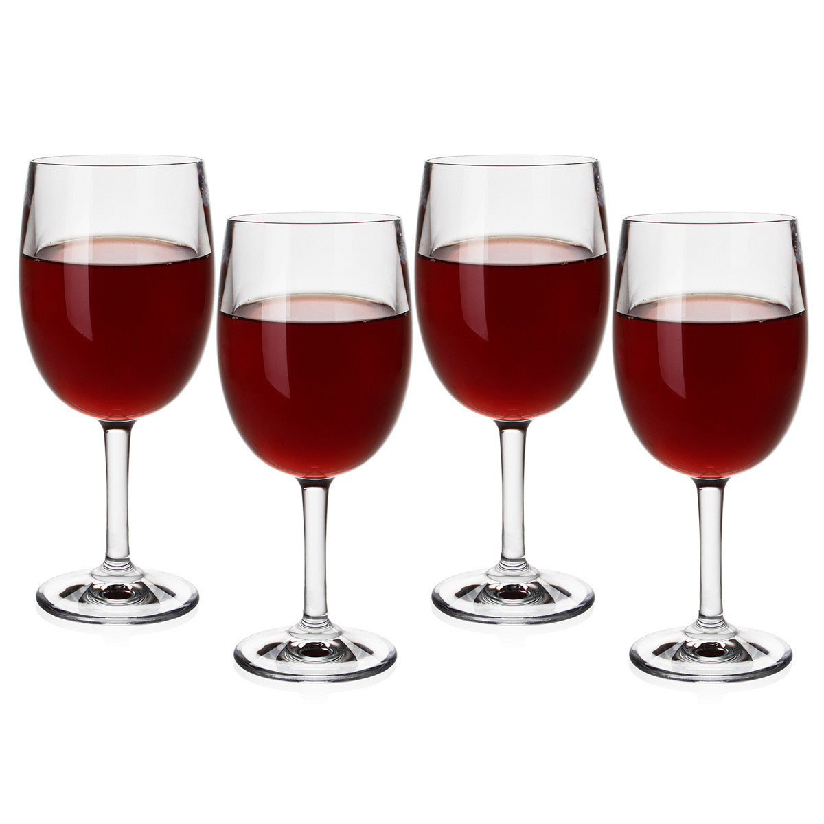 Polycarbonate Red Wine Glasses / Set 4