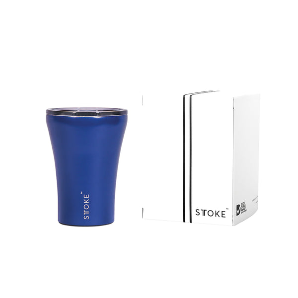 Ceramic Re-Usable Cup Blue 8oz