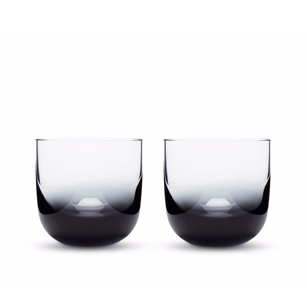 Tank Whiskey Glass Black / Set 2