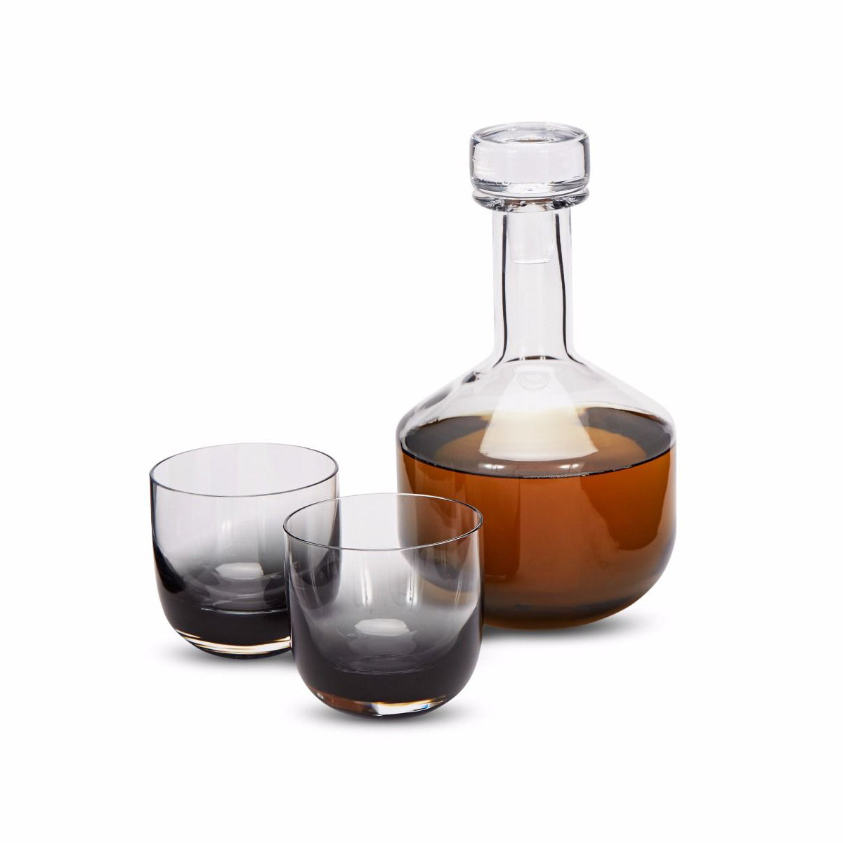Tank Whiskey Decanter Black