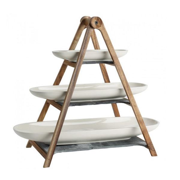 Artesano 4pc Tray Stand Set