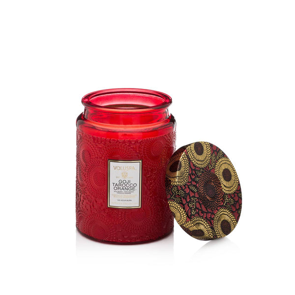 100 hr Candle Goji Tarocco Orange