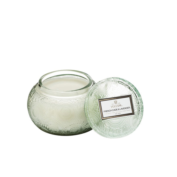Chawan Bowl Candle French Cade Lavender