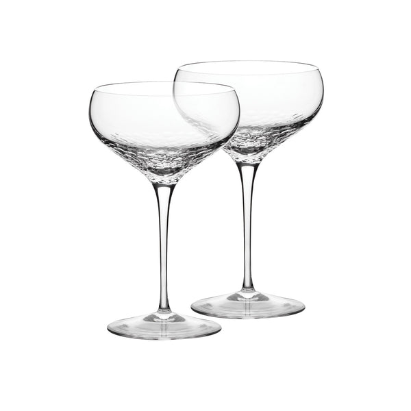 Sequin Champagne Coupes / Set 2