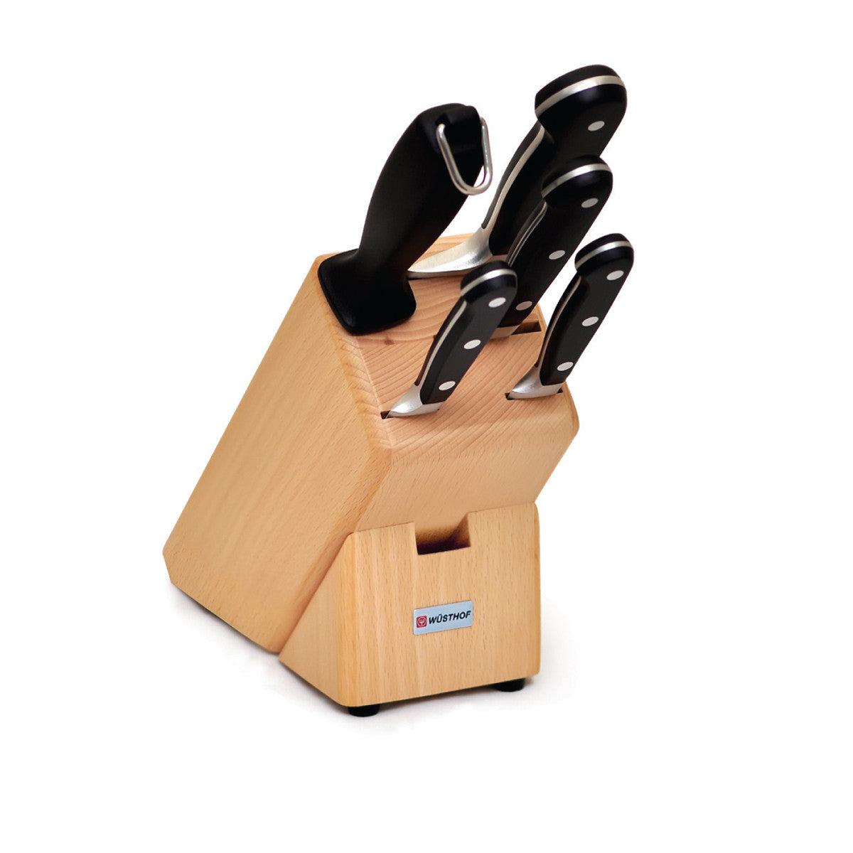 Classic 6pce Knife Block Set