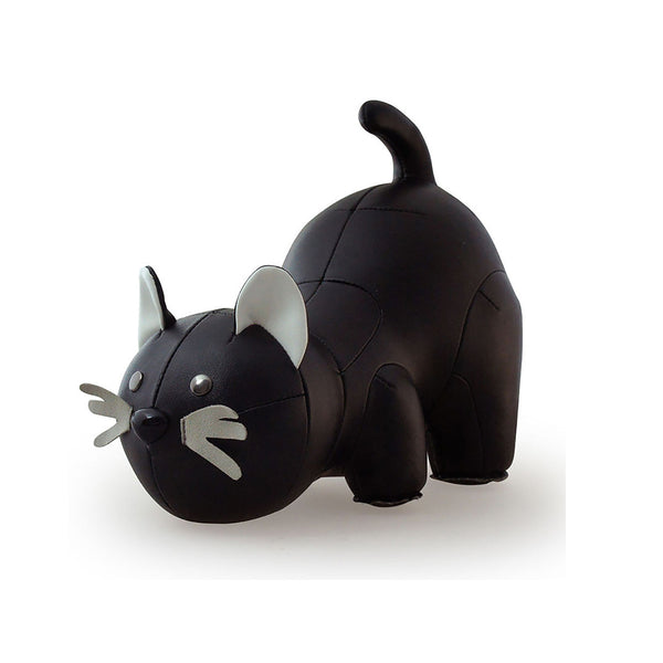 Bookend Black Cat