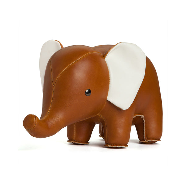 Bookend Elephant Tan