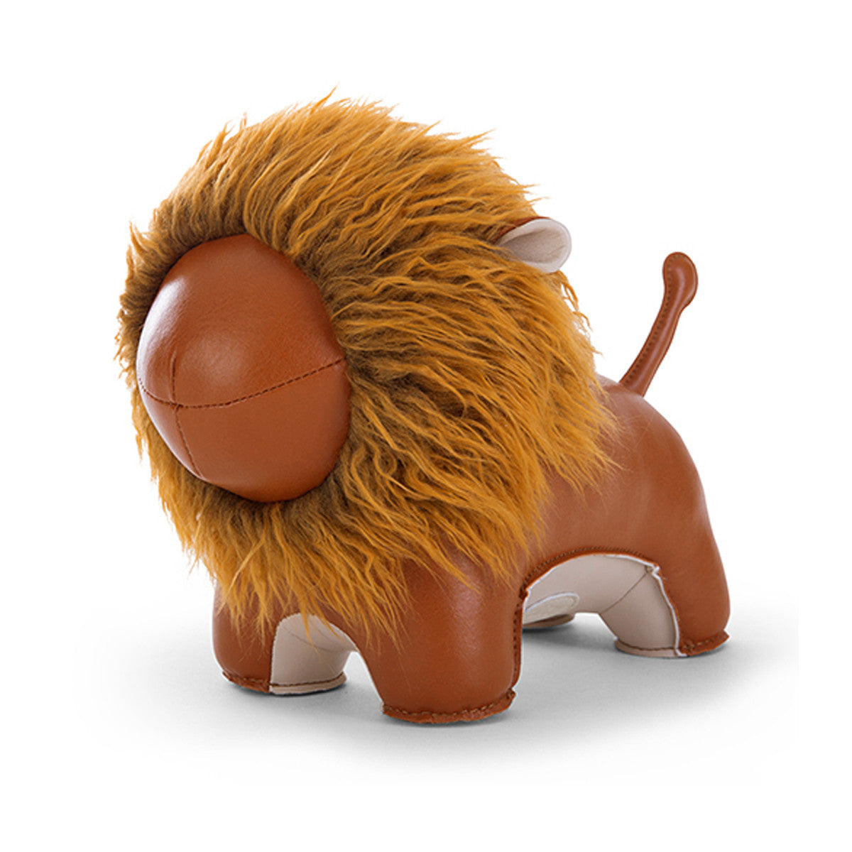 Bookend Lion Tan