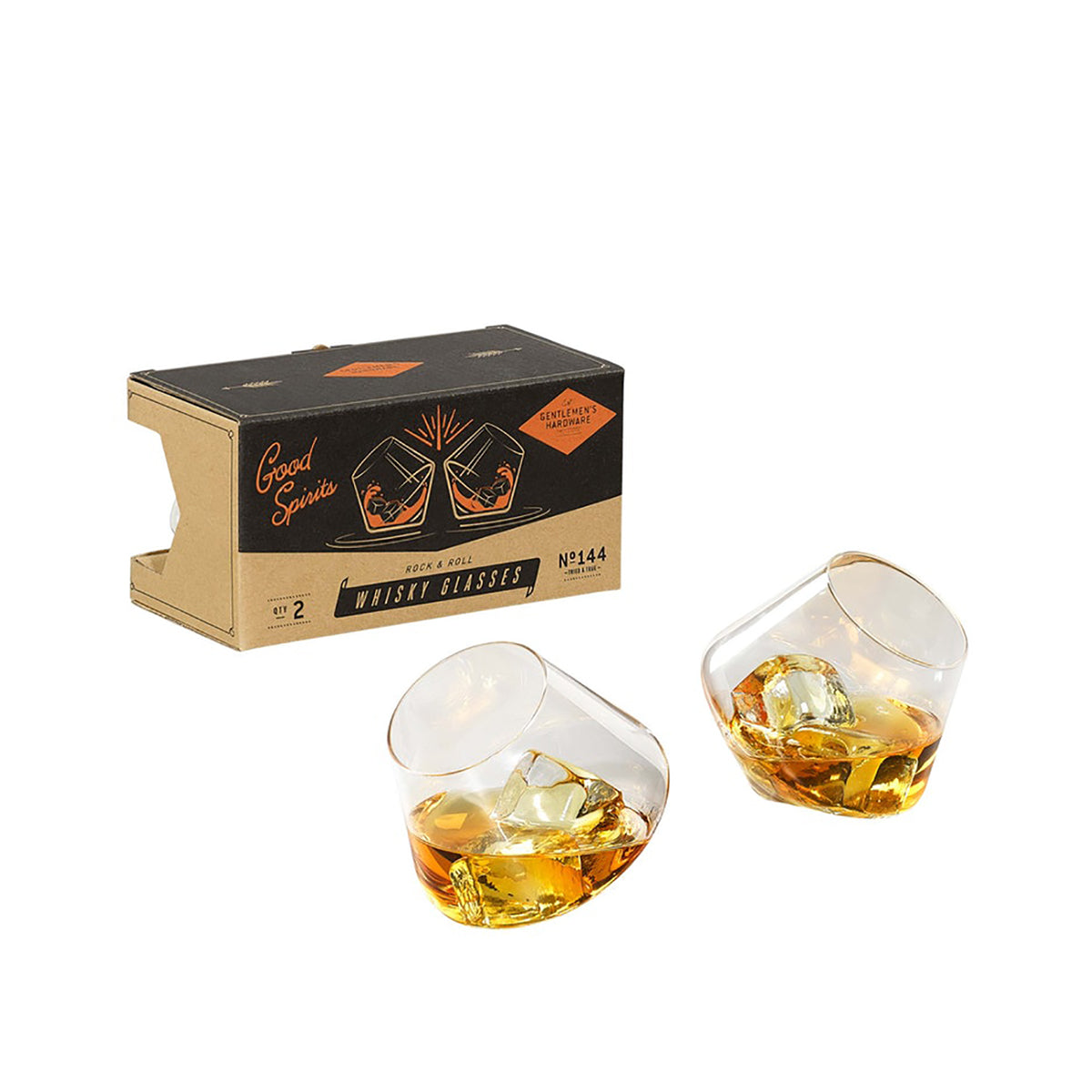 Rocking Whisky Glasses / Set 2