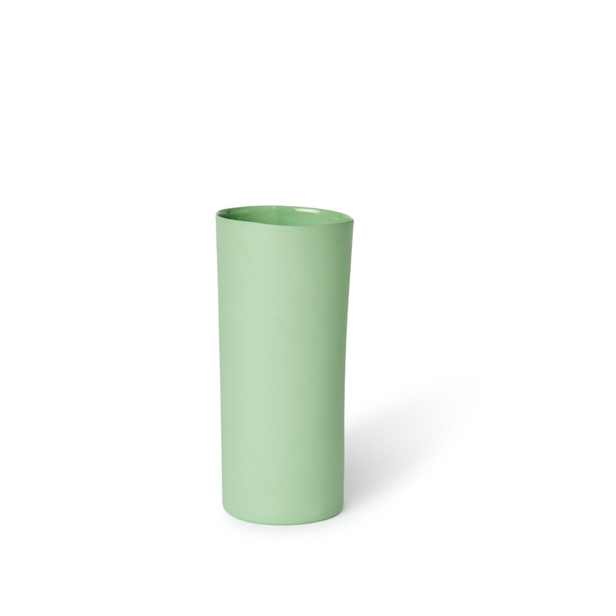 Round Vase Medium Wasabi
