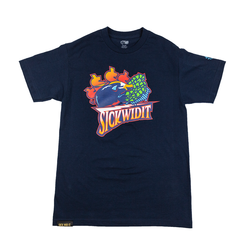 lowest price 281df d995d Navy Warriors Throwback Tee – SickWidit