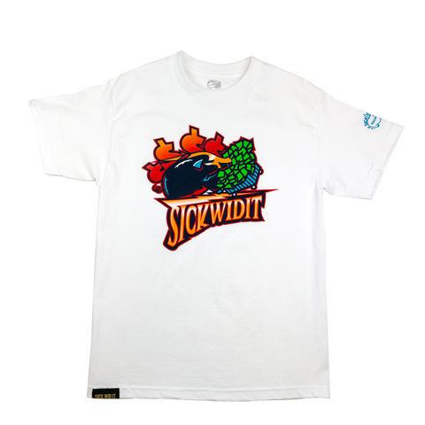 White Warriors Throwback Tee