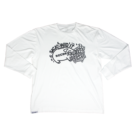 Sick Wid It Long Sleeve (White)
