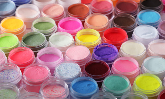 Pigment acrylic powder colors by Valentino Beauty Pure