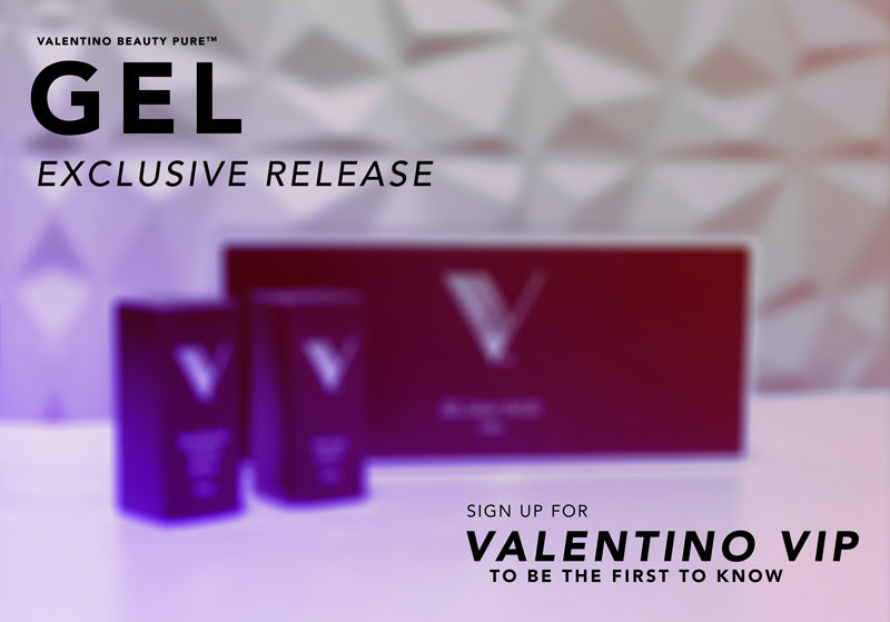 BE THE FIRST TO KNOW - GET EARLY ACCESS TO THE LAUNCH OF VALENTINO GEL POLISH BELOW!