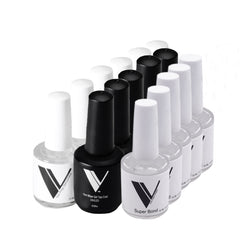 BUY 5 GEL POLISH TOP COATS AND 5 SUPER BONDS - GET 5 DEHYDRATORS FREE