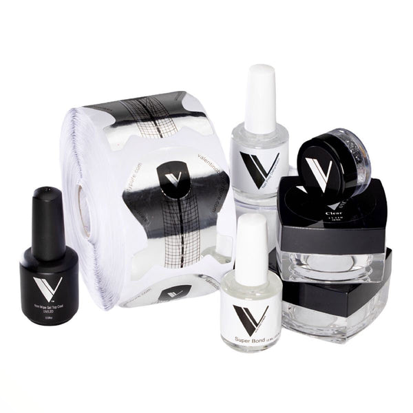 Acrylic Powder - Acrylic System by Valentino Beauty Pure - Gel Kit