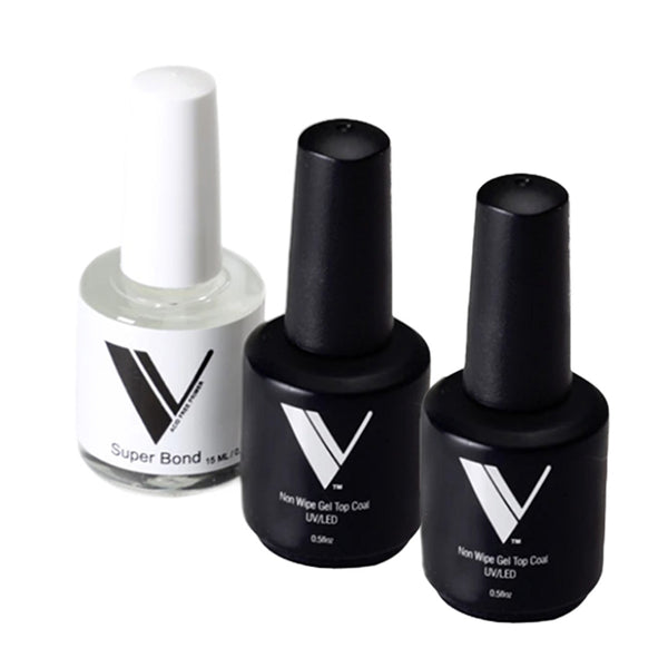 Acrylic System by Valentino Beauty Pure - Non Wipe Gel Top Coat with Super Bond Primer Sale