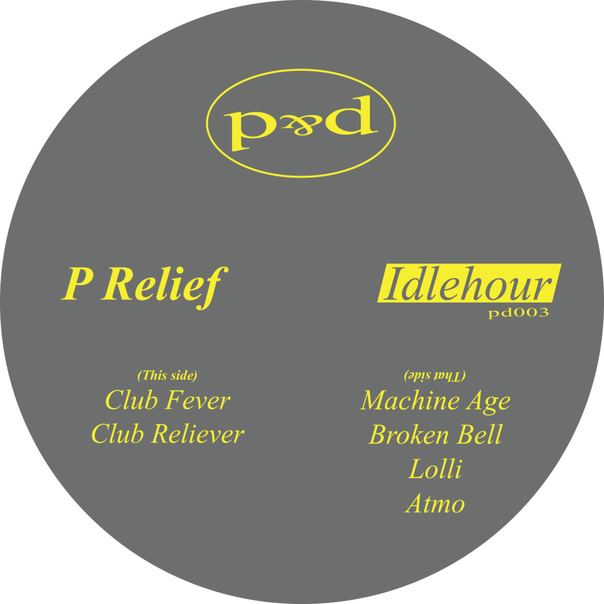 Idlehour - P Relief
