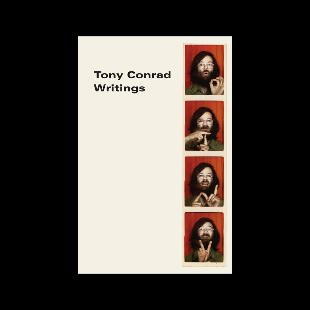 Tony Conrad - Writings