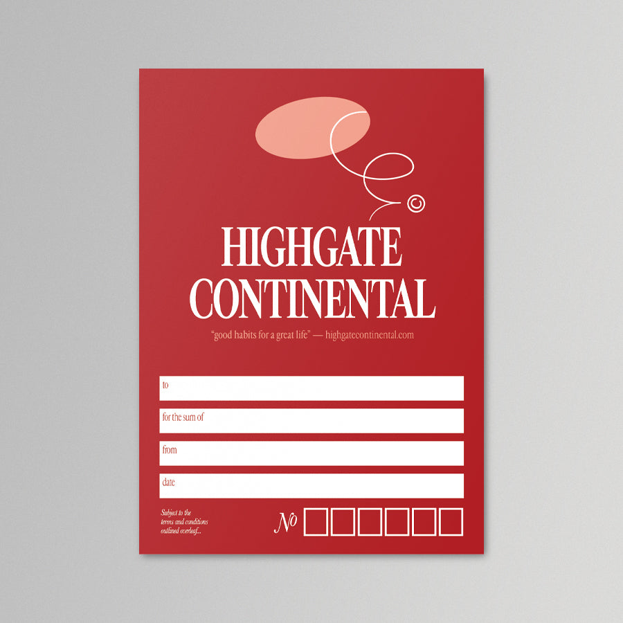 The Continental Gift Card