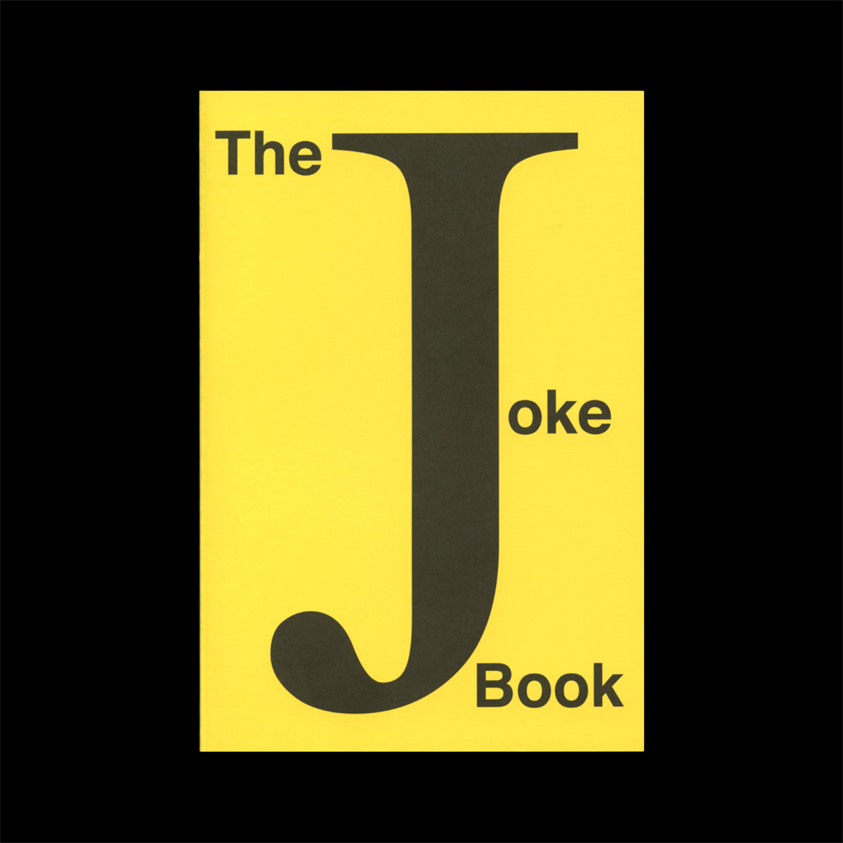 The Joke Book: Collected by Seth Siegelaub