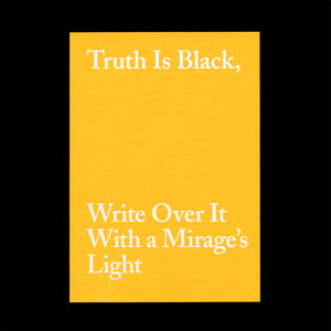 Truth Is Black / Examining Arab Art Today