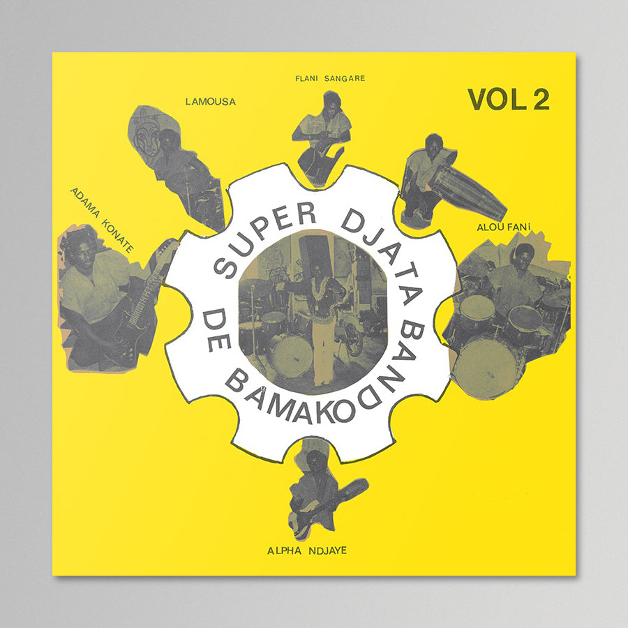Super Djata Band De Bamako - Vol. 2 (Yellow)
