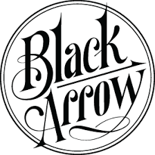 Black Arrow Label