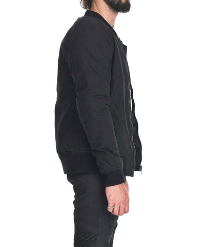 SAINT FLIGHT JACKET - BLACK
